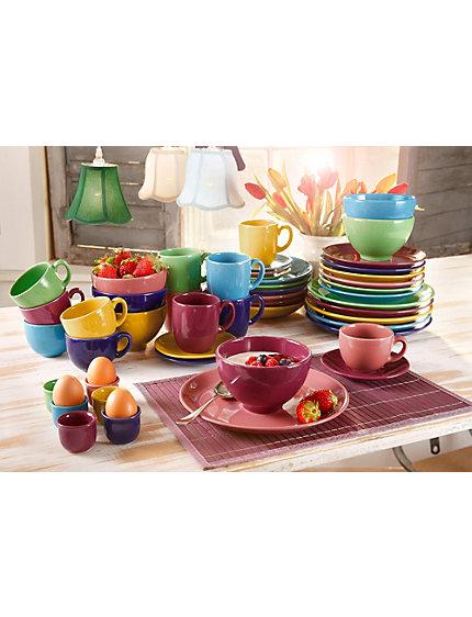 koop creatable aardewerken servies top multicolour multicolour in de heine online shop. Black Bedroom Furniture Sets. Home Design Ideas