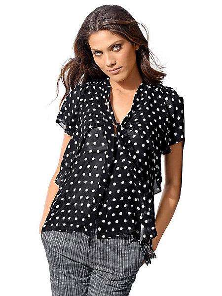 Большой выбор блузок в горох в интернет-магазине WildBerries.ru. . Бесплатная доставка и постоянные
