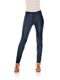 Leren bodyforming-legging van lamsnappa
