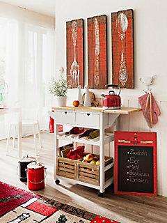 Wanddecoratie »Bestek«, 3-delig