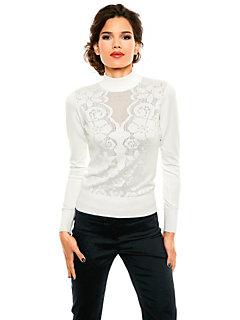 Ashley Brooke Event - Fijngebreide pullover