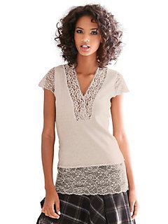 Linea Tesini - Kanten shirt