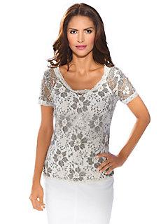 Ashley Brooke - Kanten shirt