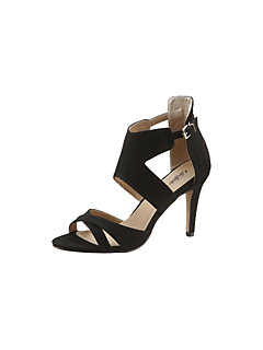 BUFFALO GIRL Highheel-sandaaltjes in xuède-look