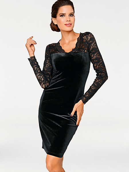 Ashley Brooke - Fluwelen jurk